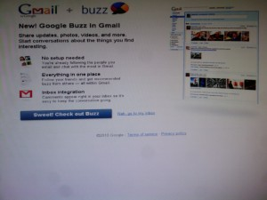 google buzz, google buzz launches, google buzz launch
