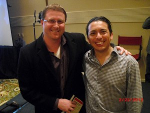 Justin French and Brian Solis at Linked OC event
