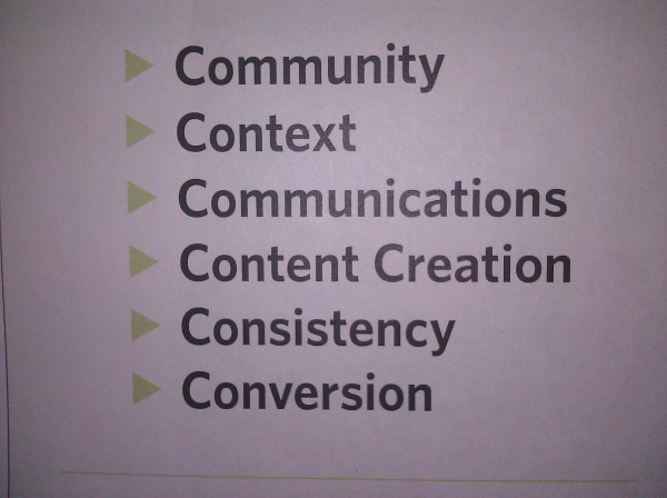 The 7 C's to Social Media